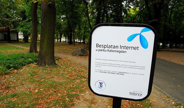 internet u firmama u Srbiji
