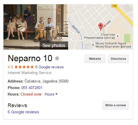 Neparno10 Google boks