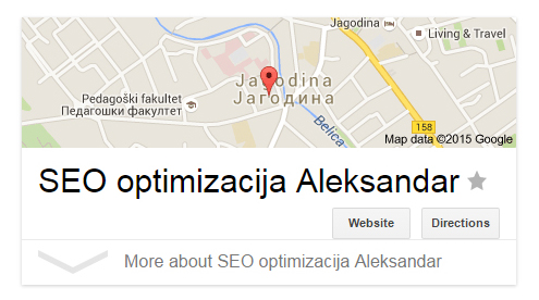 SEO optimizacija Aleksandar vidi vise