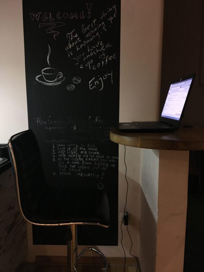 board wall