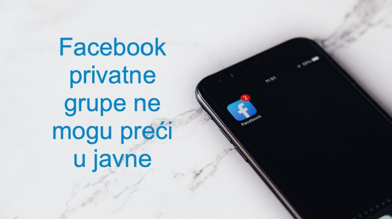 Facebook privatne grupe