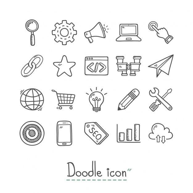 rucno zrtane ikonice web dizajn trend 2020